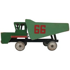 Russian Midcentury Toy Truck from Wood