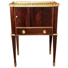 Russian Neoclassic Mahogany End Table