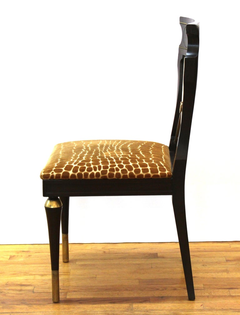 Russian Neoclassical Revival Style Dining Chairs For Sale 3