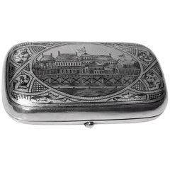 Russian Silver Case Moscow 1887 Andrey Postnikov