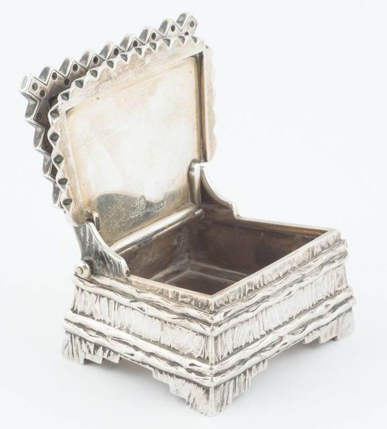 Russian Silver Salt Throne by Sazikov, circa 1880 For Sale 2