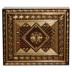 Russian Wooden Inlay Decorative Box