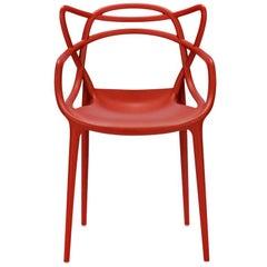 Rust Orange Masters Chair, Philippe Starck