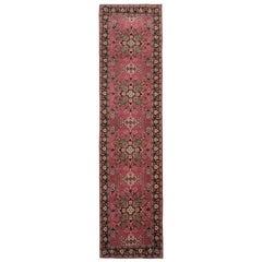 Rust Oriental Runner, Chinese Rug Handmade Carpet Runners, Floor Rugs for Sale