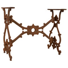 Rusted Iron Table Base