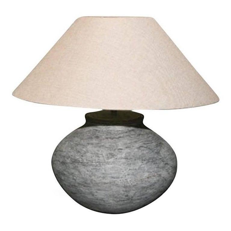 Terracotta Pottery Lamp