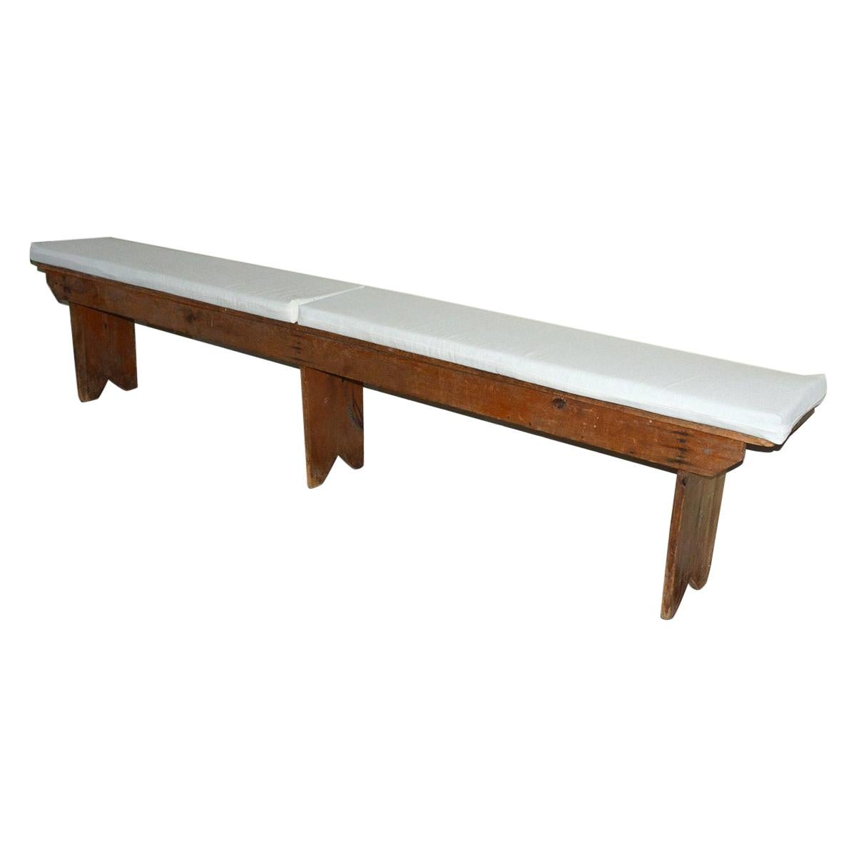 Rustic American Country Bench