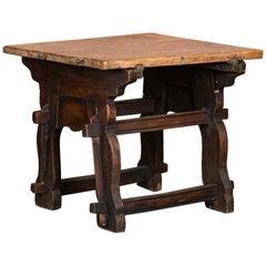 Rustic Antique 18th Century Spanish Work Table