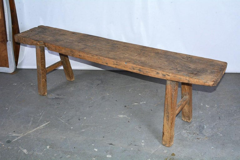 Awe Inspiring Rustic Antique Country Bench Gamerscity Chair Design For Home Gamerscityorg