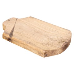 Rustic Antique French Cutting Board or Chopping Block