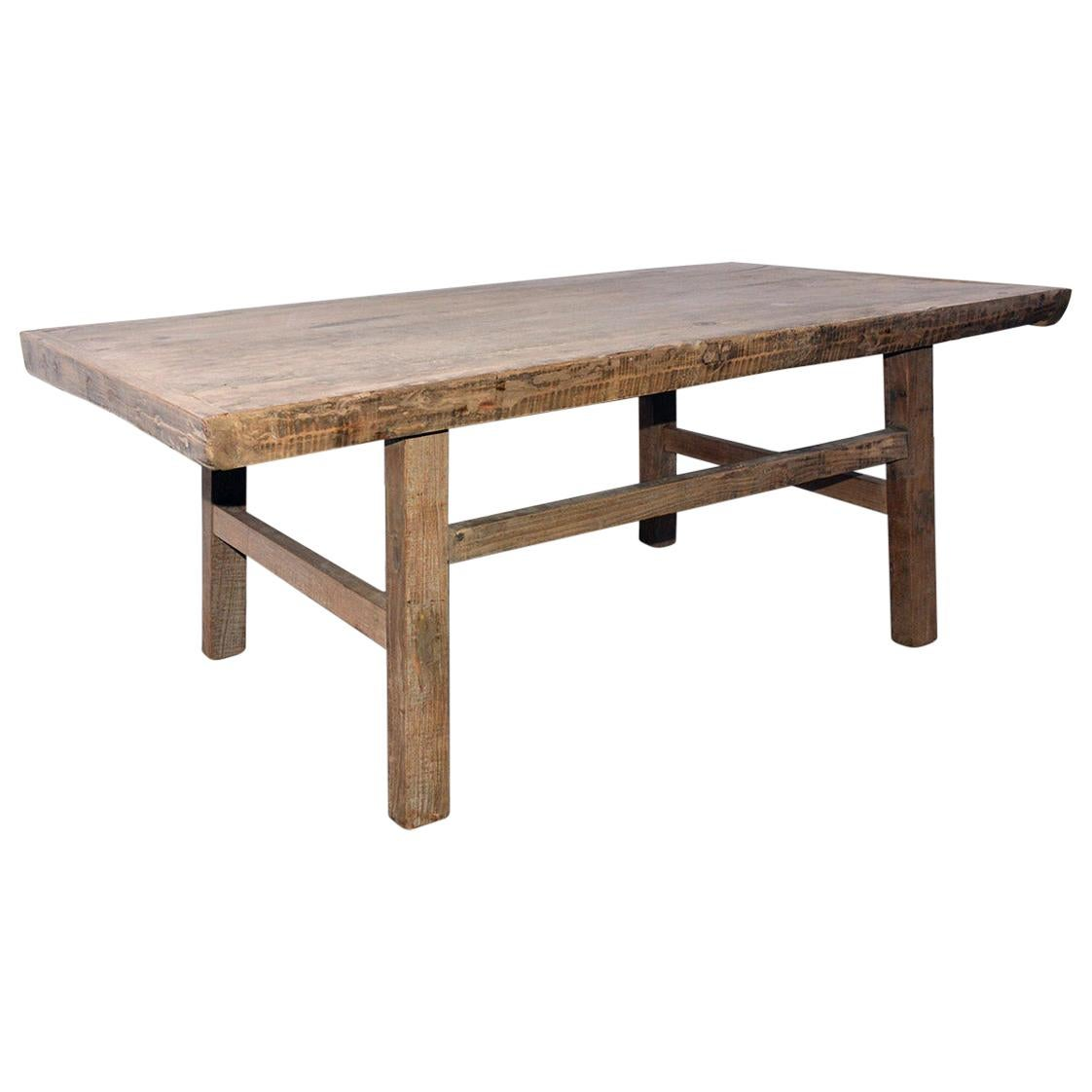 Rustic Asian Coffee Table or Bench