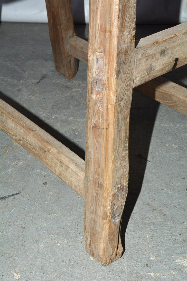 Rustic Asian Stools, Sold Singly For Sale 3