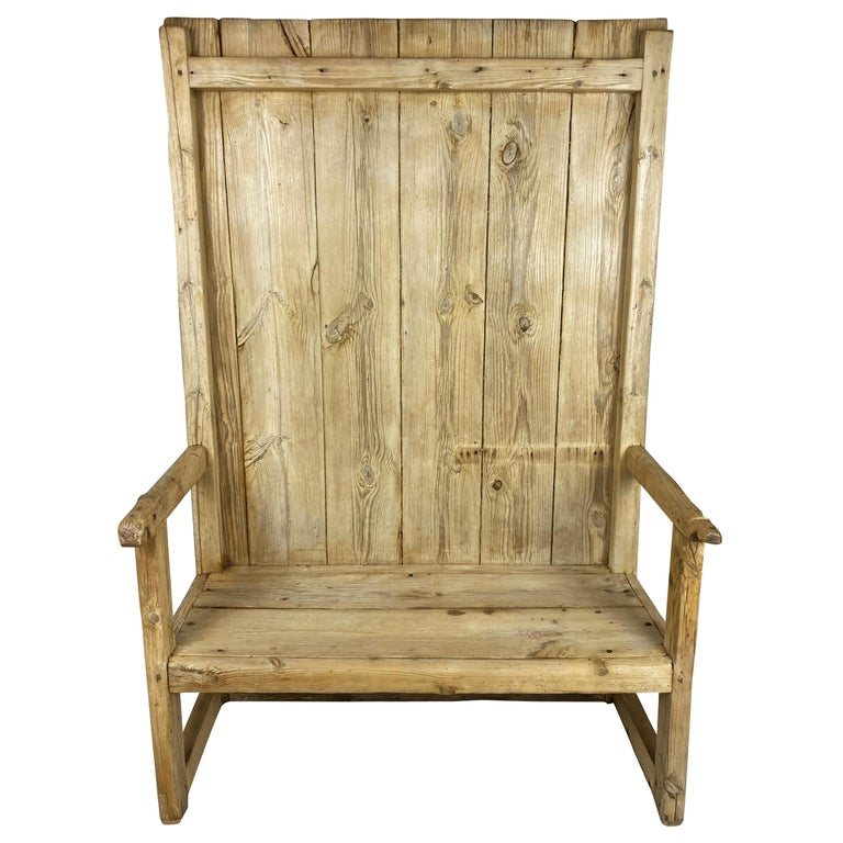 Rustic Bench, circa 1830, Spain For Sale
