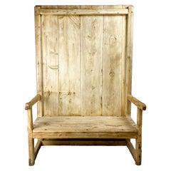 Rustic Bench, circa 1830, Spain