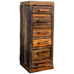 Rustic Cabin 6-Drawer Log Chest