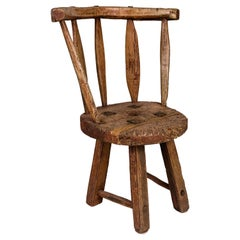 Rustic Chair, 18th Century, Sweden
