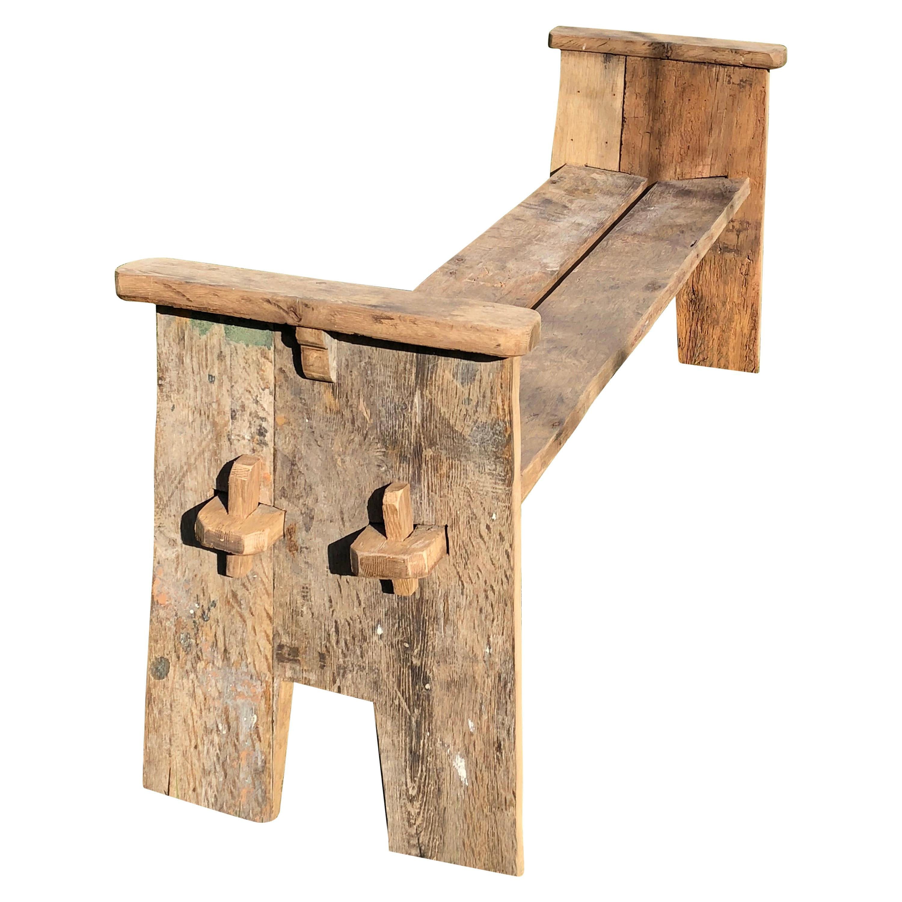 Rustic Country Bench