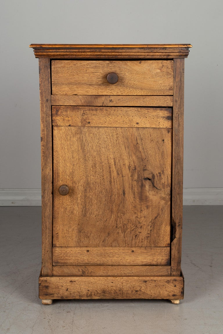 Hand-Crafted Rustic Country French Side Table