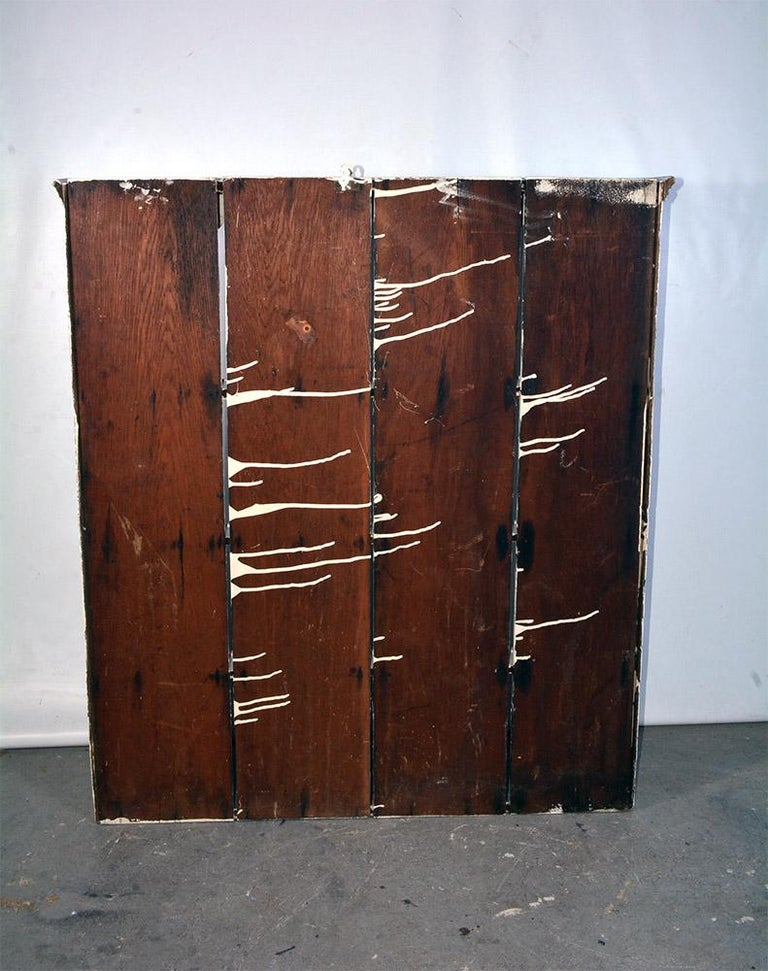 Wood Rustic Country Style Plate Rack or Hutch For Sale