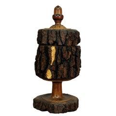 Rustikaler Antiker Dekor Humidor Holz