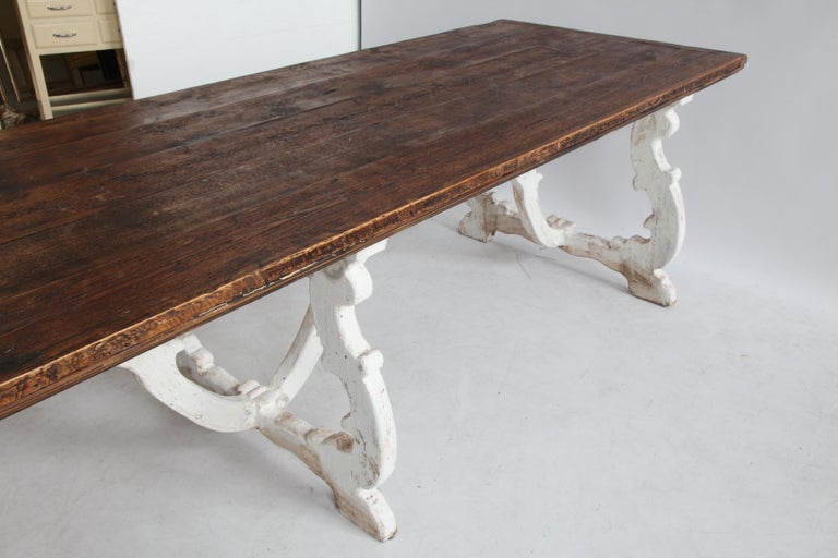 Country House Dining Table From Tuscany, Italy For Sale 3