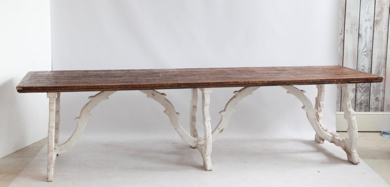 Country House Dining Table From Tuscany, Italy For Sale 1