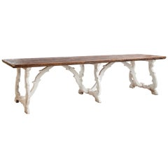 Country House Dining Table From Tuscany, Italy