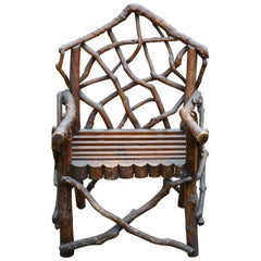 Rustic English Armchair
