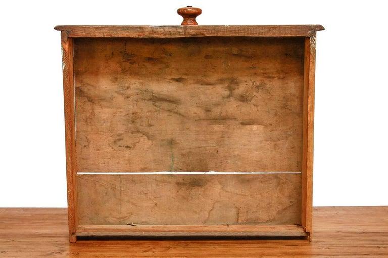 Rustic Farmhouse Oak Work Table or Console For Sale 9