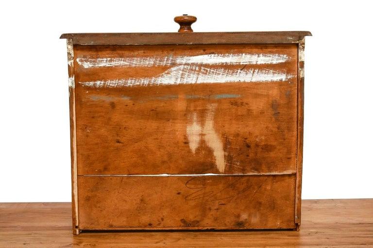 Rustic Farmhouse Oak Work Table or Console For Sale 10