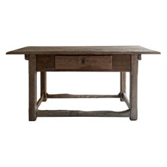 Rustic Flemish 17th Century Table
