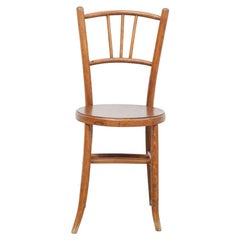 Rustic French Bentwood Chair in the Style of Thonet, circa 1940