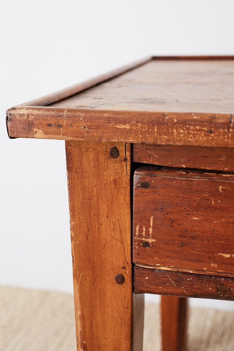 Rustic French Country Farmhouse Display Table Or Console