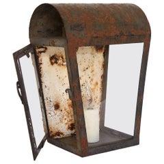 Rustic Lantern Table Lamp