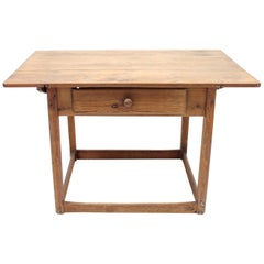 Rustic Mid-19th Century Antique Swedish Pine Table
