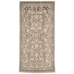 Rustic Mid-20th Century Century Handmade Persian Malayer Gallery Accent Rug