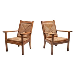 Rustic Modern Chairs 'Worpswede'