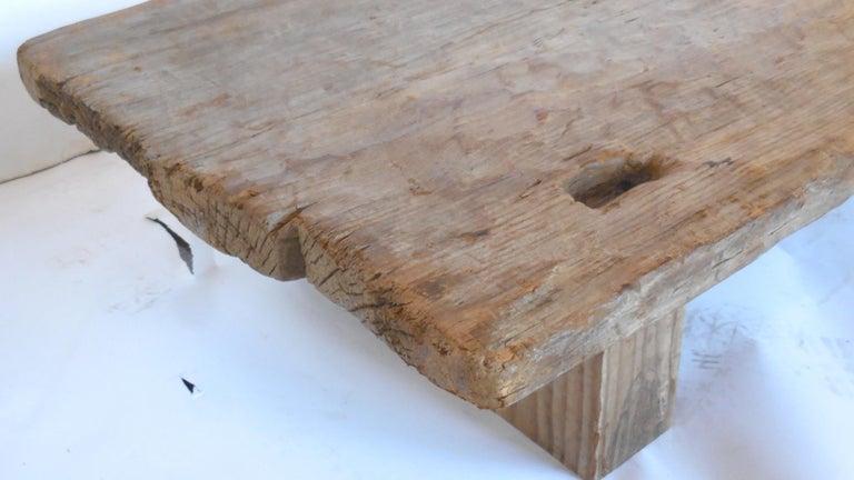 Rustic Modern Low Coffee Table 4