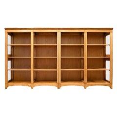 Rustic Modular Chestnut Bookcase