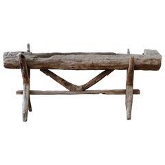 Rustic Natural Wood Driftwood Planter