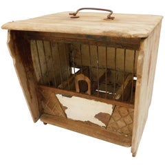 Rustic Northern French Bird Cage