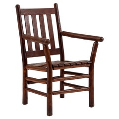 Rustic Old Hickory Armchair