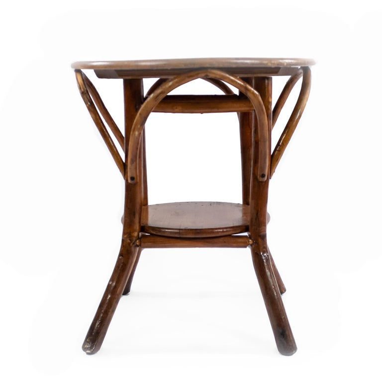 Rustic Old Hickory End Table For Sale At 1stdibs