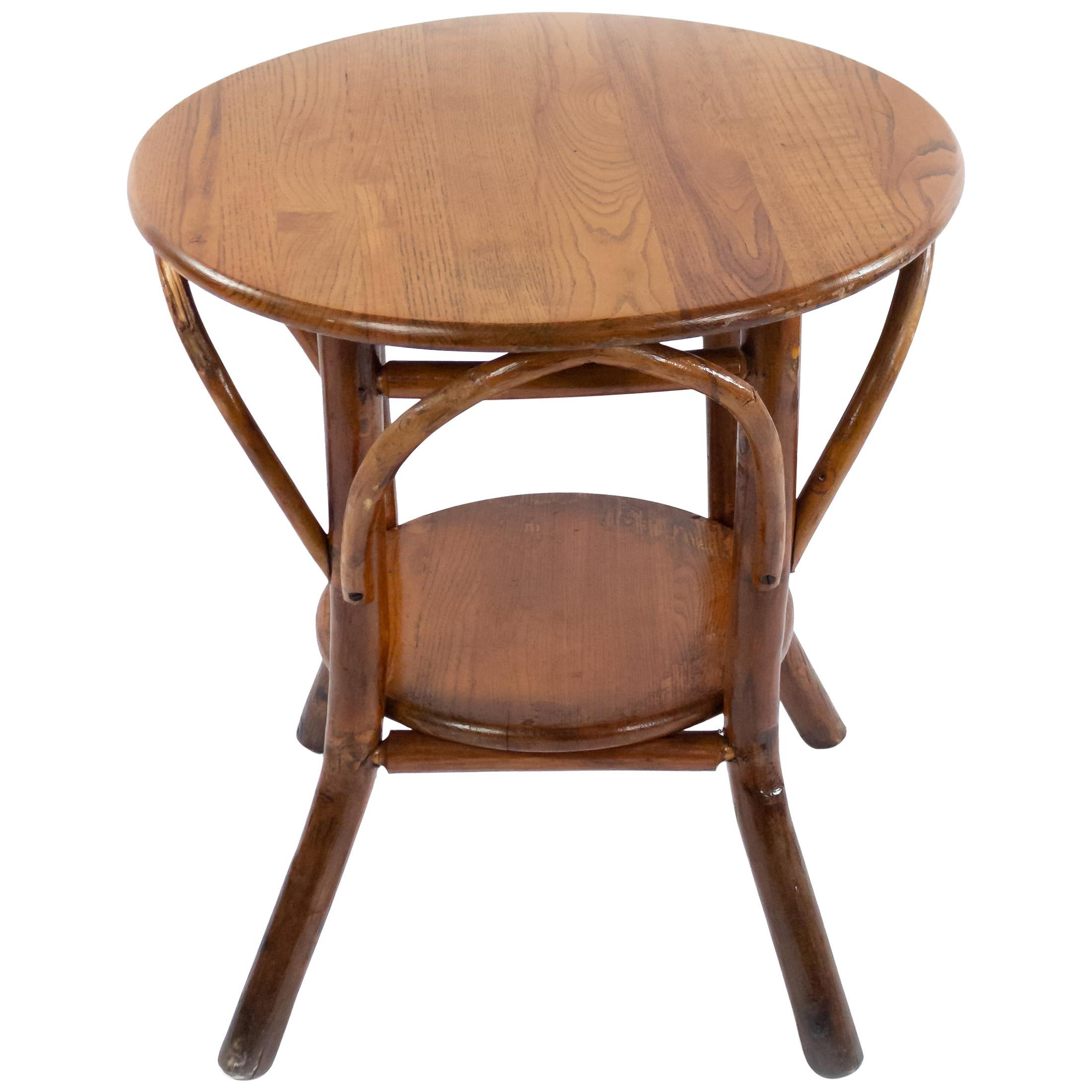 Rustic Old Hickory End Table
