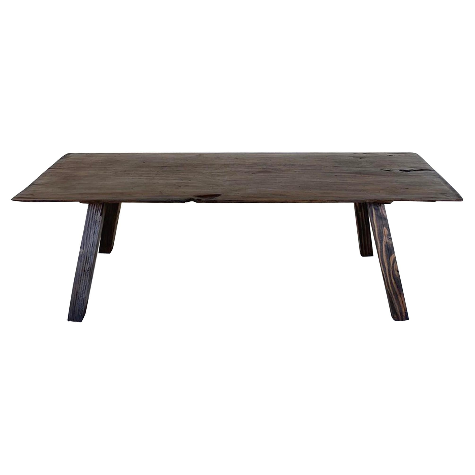 Rustic One Wide Board Coffee Table
