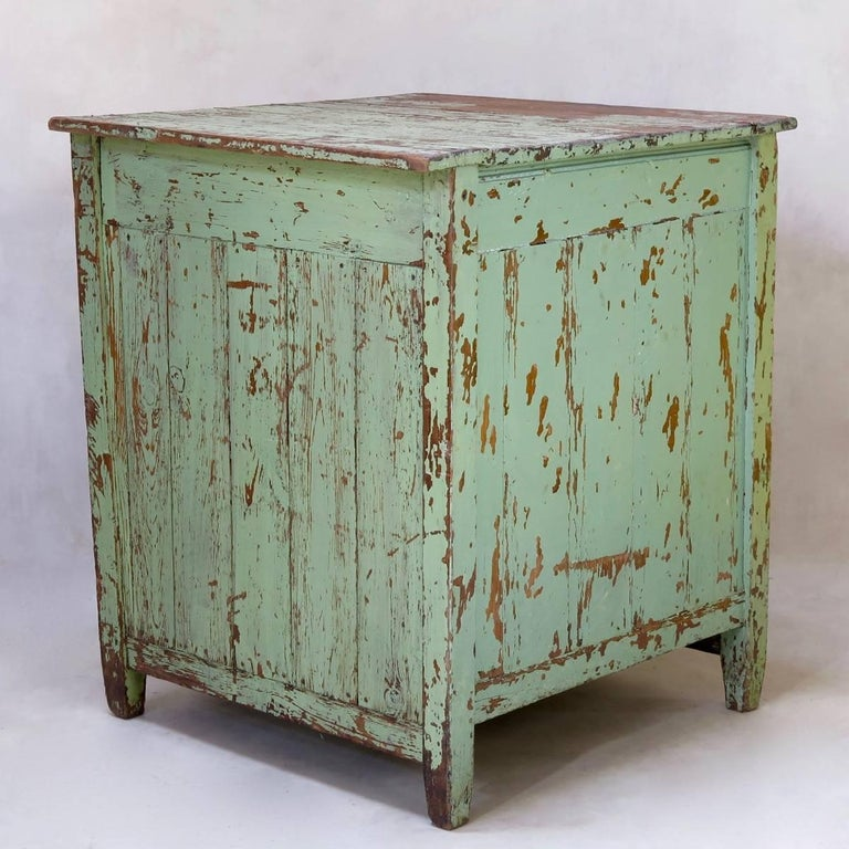20th Century Rustic Painted Cabinet, France, circa 1920s For Sale