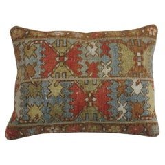Rustic Persian Malayer Lumbar Size Rug Pillow