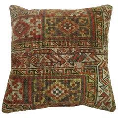 Rustic Persian Rug Pillow