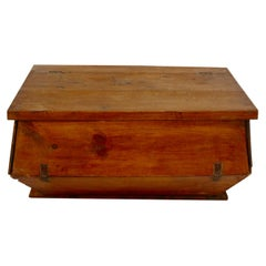 Rustic Popular Dough Box, Spain, 19th Century