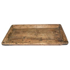 Rustic Provincial Style Chinese Serving Tray